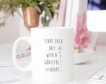 Bri's Grateful Heart Mug