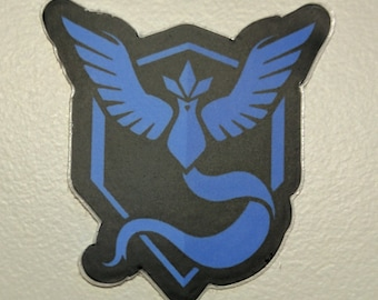Team Mystic (Blue) Articuno Pokemon Go Sticker