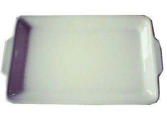 TEO plate with handles