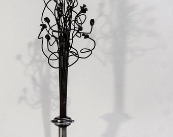 Flower/Tree - FT2 - Made from bicycle components