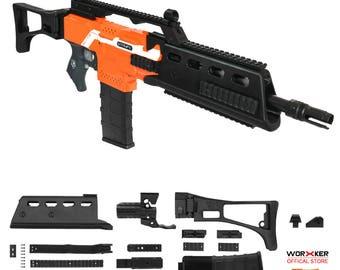 Worker MOD F10555 H&K G36 Imitation Kit 3D Printing Combo for Nerf STRYFE  Modify Toy