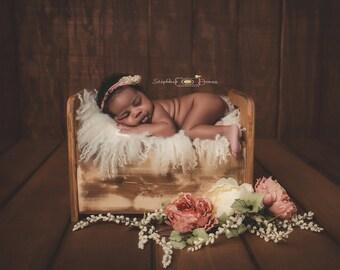 Newborn bed prop