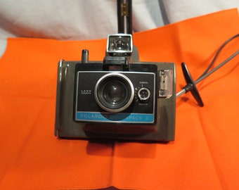 Polaroid Colorpack II Instant Film Camera with Case