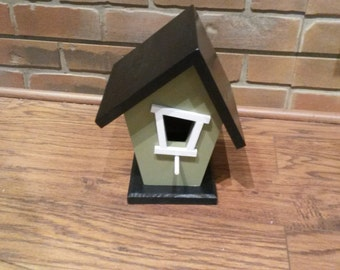 Crooked Bird House - MADE TO ORDER