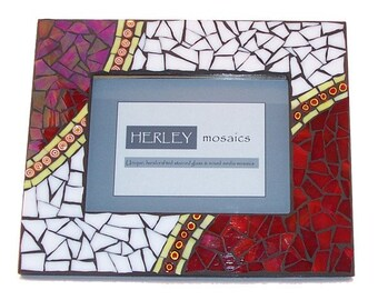 Red Planet Mosaic Picture Frame