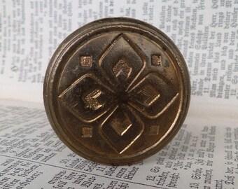 Doorknob Vintage German, brass, door handle, door knob, door pull
