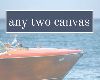 Get 20% OFF Today Any Set of 2 canvas, Customize, Mix & Match, Home Decor Art Prints