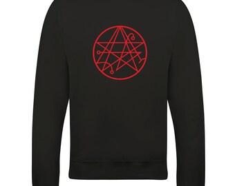 Sigil of the gateway cthulhu symbol - H P Lovecraft mythos inspired Sweatshirt - SW1226