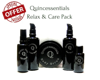 Home Spa, Relax Pack, Skin Care, Body Care, Hair Care , Natural Skin Care, by Quincessentials