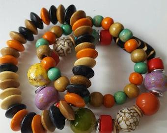 Boho beaded bracelets, Boho bracelets, Beaded boho bracelets, Beaded bracelets, Boho bead bracelets, Bead boho bracelets, Boho bracelet