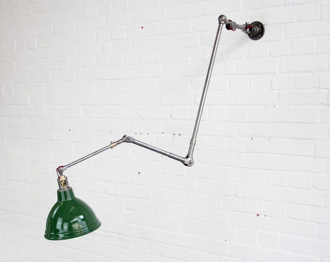 Large Industrial Task Lamp By Dugdills Circa 1930s