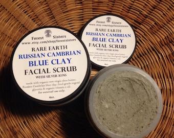 Russian Cambrian Blue Clay Facial Scrub