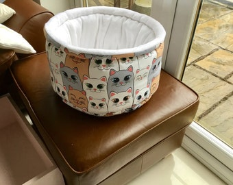 Luxury pet bed, cat bed, dog bed hand made
