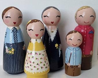 Custom Family of 7 and Medium Box
