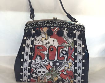 Punk Rocker Vintage Handbag