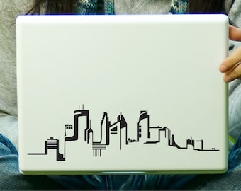 Minneapolis Skyline Sticker Decal Laptop Decal iPad