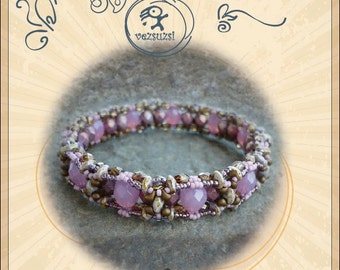 Beading pattern Bracelet tutorial / pattern Mirko ..PDF instruction for personal use only
