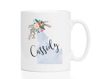 Idaho Mug / Personalized Mug / Custom State Mug / Friend Gift / Idaho Gift /  11 or 15 oz / Going Away Gift / Moving Gift