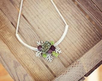 Succulent Necklace