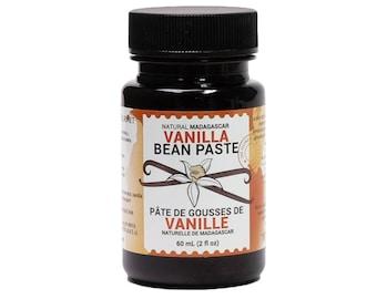 Vanilla Bean Paste, Natural Madagascar 2 oz, by LorAnn