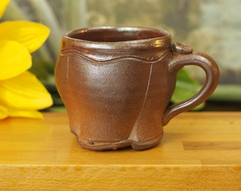 Small Wood Fired Tulip Mug