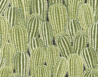 Southwest Cactus Green Timeless Treasures #7111 By the Yard