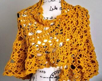 Crochet Shawl, Shawl, Wrap, Bridal shawl, Bridal Wrap, Wedding