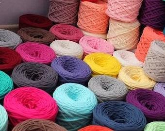 T-Shirt Yarn Cotton Yarn Zpagetti yarn 50 or 25 meters
