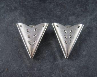 Vintage Western Diamond Cut Collar Tips