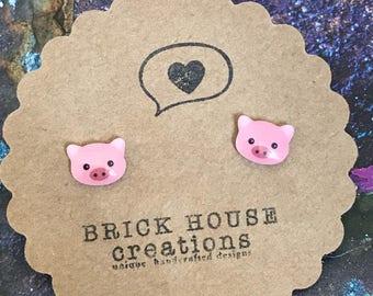 Little Piggy Earrings
