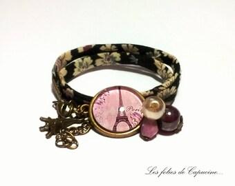 Liberty bracelet Cabochon •TOUR EIFFEL•