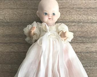 "Porcelain ""Sleepy"" Doll"