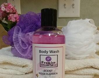 Body Wash | Rose Garden Body Wash Shower Gel | Shower Gel  | Rose Garden Scent