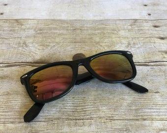 Vintage Wayfarer Style Sunglasses by Opti-Ray