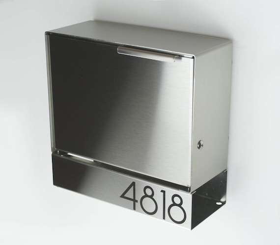 modern wall mount mailbox. Perfect Wall With Modern Wall Mount Mailbox D