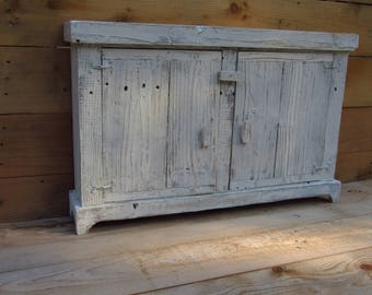 Distressed French Country Essential Oil Medicine Cabinet, With Authentic  Metal Tin Door, French Country