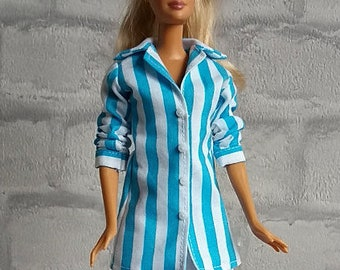 Barbie blouse stripes