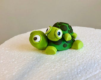 Fondant Turtles Cake Topper