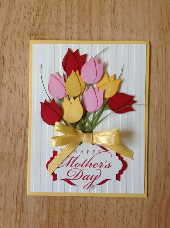 items similar to stampin up handmade happy mother's day