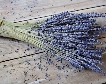 LavenderStems~100 stems per Lavender Bundle~Dried Lavender~Lavender Bundle~Cut Lavender~Lavender Stems~Wedding~French~Fragrance
