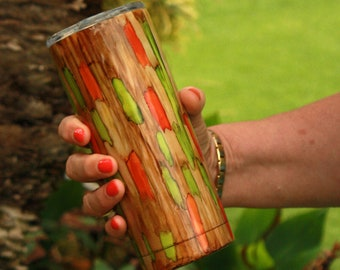 Rainbow Eucalyptus Tumbler