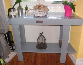 Console table made from pallets to order and customizable