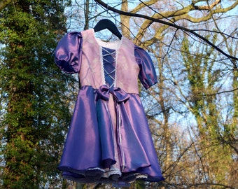 Girls Rapunzel dress - Tangled costume - Rapunzel cosplay - Disney dress