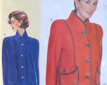 Vogue 7183 Today's Fit Misses Jacket Pattern by Sandra Betzina, Sizes A, B, C, Factory Folded Uncut, Sewing Pattern