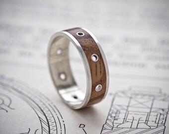 Steampunk Ring - Size Medium (UK P/Q, US 7.5/8)