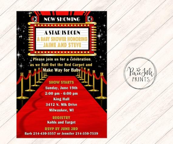 Invitations Red Carpet