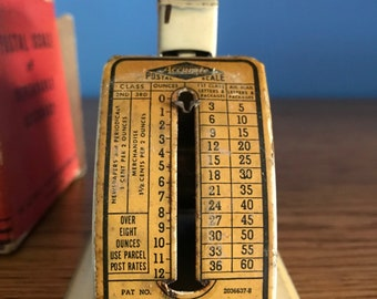 Vintage Accurate Postal Scale