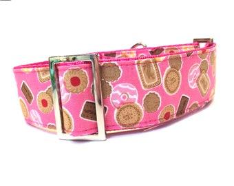 Greyhound collar, tag collar, house collar, sighthound collar, dog collar