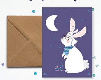 Map 'Rabbit' - kraft envelope