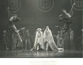 Ballet scene vintage dance photo
